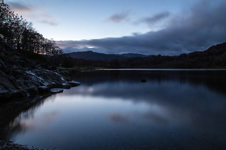 Rydal Water at Dusk