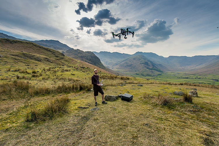 Naik Media Drone Video Photography North West Cumbria Lake District